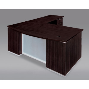 DMI Executive Pimlico L Shape Desk w/ Modesty Panel -  Product Picture 2