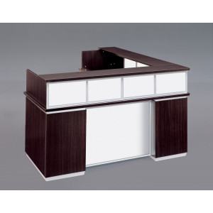 DMI Executive Pimlico Reception Desk w/ Modesty Panel & Return -  Product Picture 4