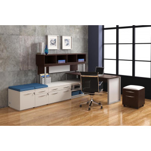 DMI Causeway L Shape Desk -  Product Picture 5