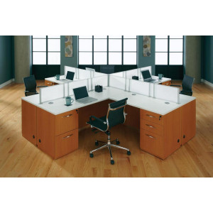 DMI Causeway L Shape Desk -  Product Picture 6