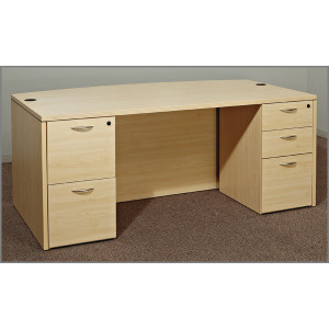 Cherryman Amber Standard Laminate Desk -  Product Picture 2