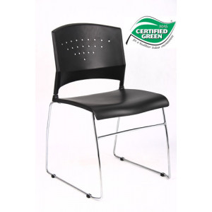 Boss B1400 Black Guest Chair -  Product Picture 2