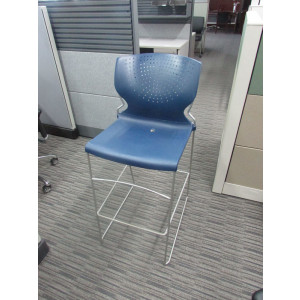 Blue Diva Lunch Room Stool -  Product Picture 2
