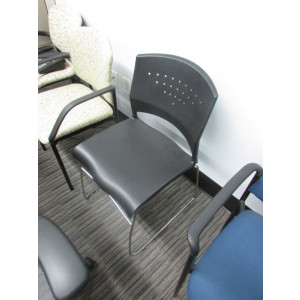 Boss B1400 Black Guest Chair -  Product Picture 1