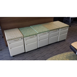 Mobile Pedestals with Cushion -  Product Picture 1