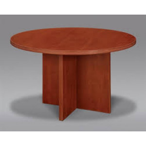 Cherryman Laminate Round Table -  Product Picture 1