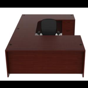 Cherryman Amber U Shape Laminate Desk -  Product Picture 1