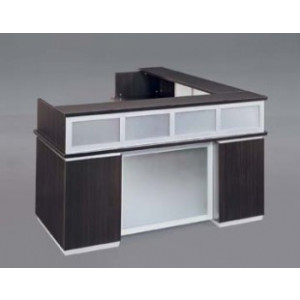 DMI Executive Pimlico Reception Desk w/ Modesty Panel & Return -  Product Picture 1