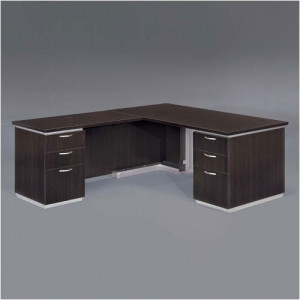 DMI Executive Pimlico L Shape Desk w/ Modesty Panel -  Product Picture 3