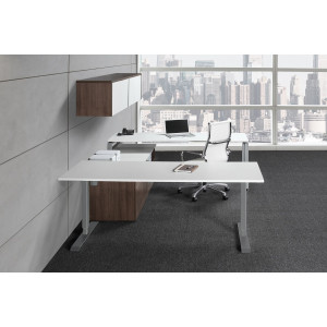 Height Adjustable Executive Desk -  Product Picture 2