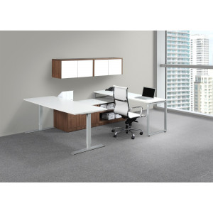 Height Adjustable Executive Desk -  Product Picture 1