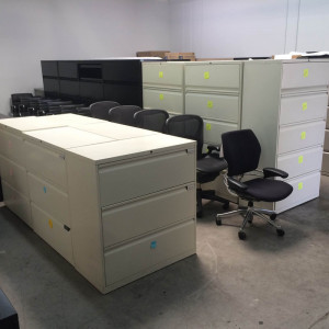 Herman Miller 3 Drawer Lateral File -  Product Picture 2