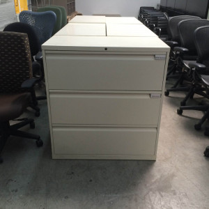 Herman Miller 3 Drawer Lateral File -  Product Picture 4