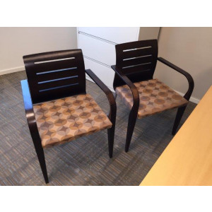 Haworth Wood Trim Guest Chair -  Product Picture 2