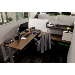 Steelcase Adjustable Height Cubicle -  Product Picture 8