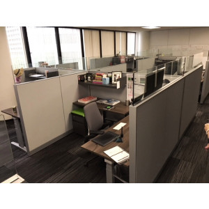 Steelcase Adjustable Height Cubicle -  Product Picture 7