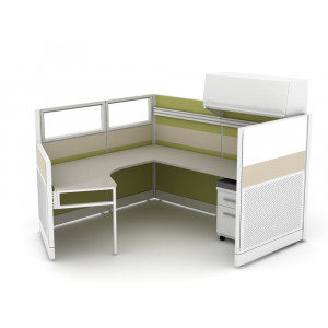 Novo Cubicle Workstation (Multiple Sizes Available) -  Product Picture 10