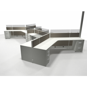 Novo Cubicle Workstation (Multiple Sizes Available) -  Product Picture 11