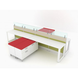 Novo Cubicle Workstation (Multiple Sizes Available) -  Product Picture 9
