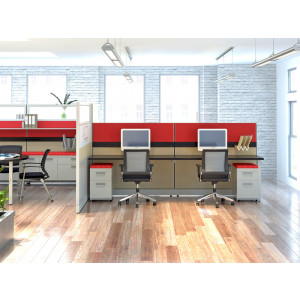 Novo Cubicle Workstation (Multiple Sizes Available) -  Product Picture 2