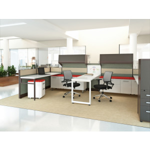 Novo Cubicle Workstation (Multiple Sizes Available) -  Product Picture 3