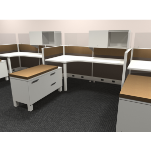 Novo Cubicle Workstation (Multiple Sizes Available) -  Product Picture 5