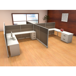 Novo Cubicle Workstation (Multiple Sizes Available) -  Product Picture 6