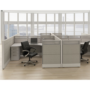 Tiles Cubicle Workstation (Multiple Sizes Available) -  Product Picture 7