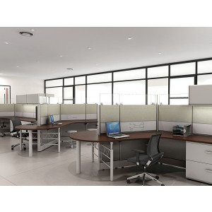 Tiles Cubicle Workstation (Multiple Sizes Available) -  Product Picture 6
