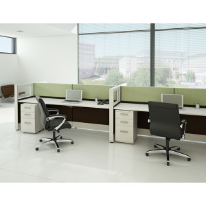 Tiles Cubicle Workstation (Multiple Sizes Available) -  Product Picture 1