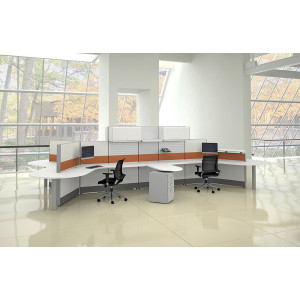 Tiles Cubicle Workstation (Multiple Sizes Available) -  Product Picture 2