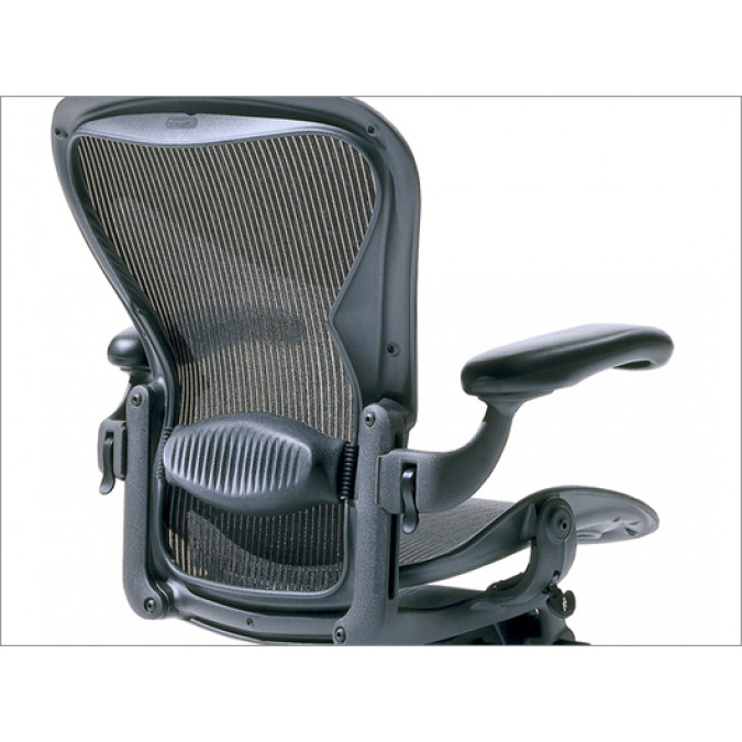 miller office chair. Herman Miller Aeron Chair - Rear View Product Picture 1 Office
