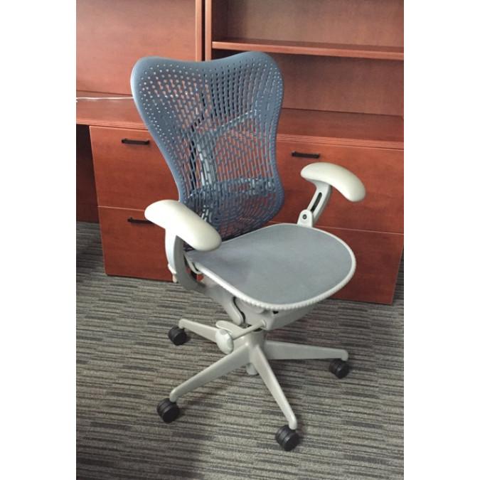 herman miller mirra blue grey chair herman miller cube designs