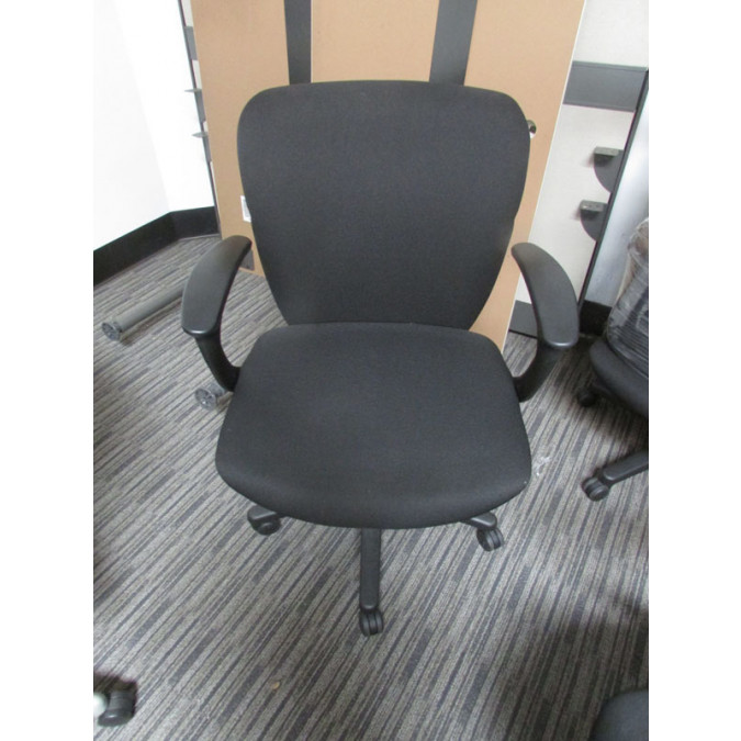 Kimball Coliseum Black Task Chair   Product Picture ...