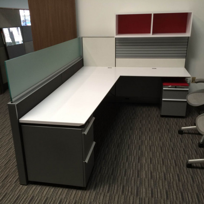 Knoll Home Design Shop: Knoll Auto Strada Modern Cubicle Unit (6' X 8') (6' X 6