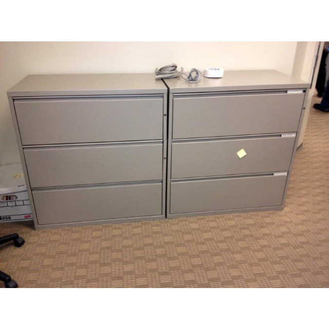 lateral cabinet used drawer file