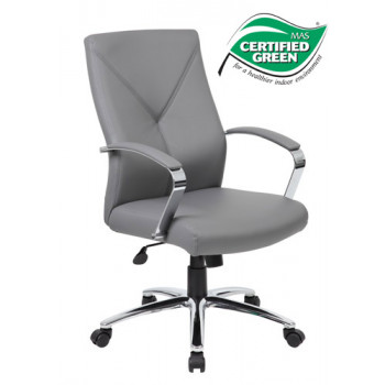 Boss LeatherPlus Executive Chair B10101