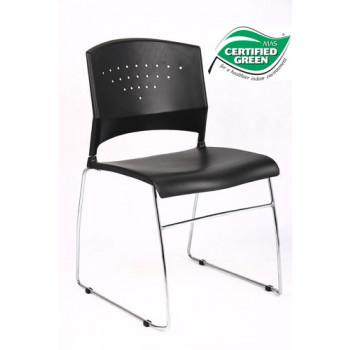 Boss B1400 Black Guest Chair