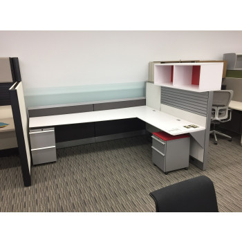 Knoll Dividends Modern Cubicle Unit (6' x 8') (6' x 6')