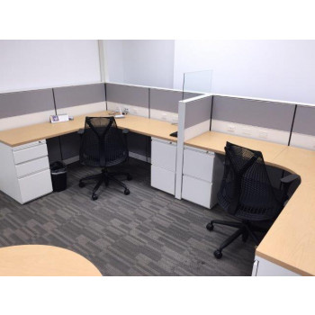 Herman Miller Vivo Low Wall Cubicles (6 x 6)
