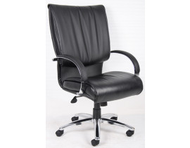 Boss B9701C Leather High Back Chair