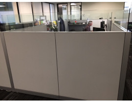 Steelcase Adjustable Height Cubicle