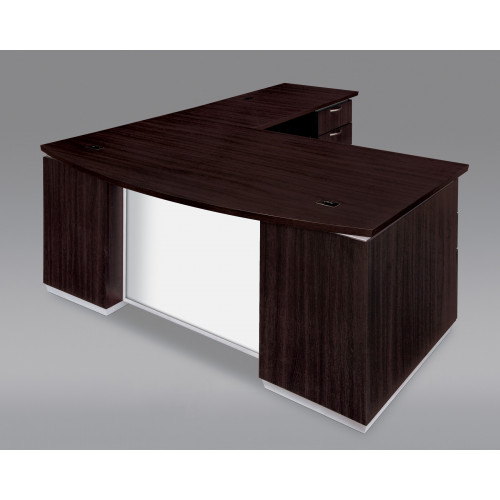 DMI Executive Pimlico L Shape Desk w/ Modesty Panel