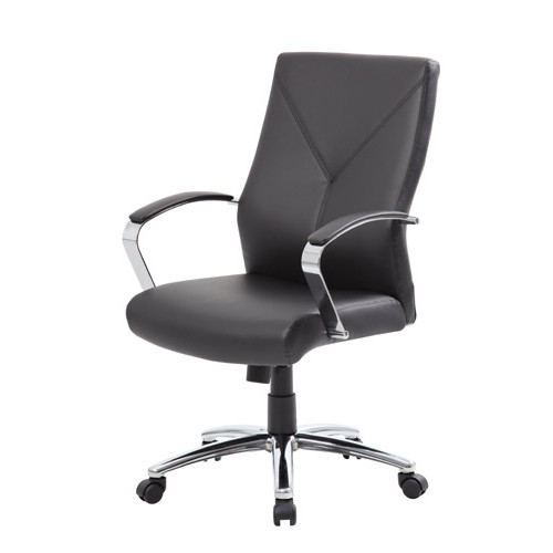 Boss LeatherPlus Executive Chair B10101