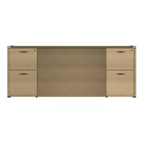 The Perfect Cherryman Amber Credenza Laminate Desk