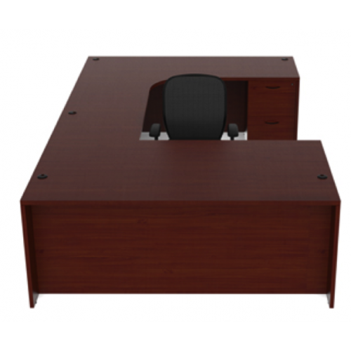 The Perfect Cherryman Amber U Shape Laminate Desk