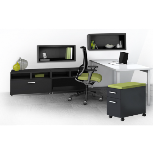 Mayline e5 Desking Typical 15 & 16