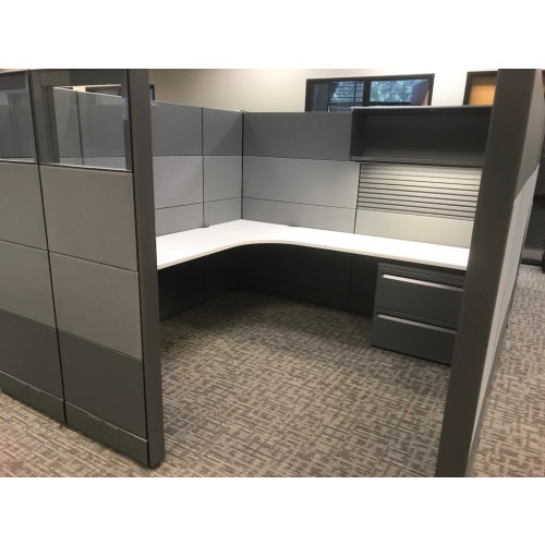 Herman Miller Ethospace Metallic Cubicle Unit