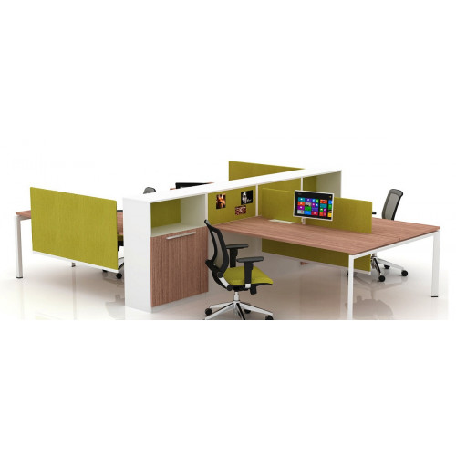 The Perfect Verity Cubicle Benching Workstation