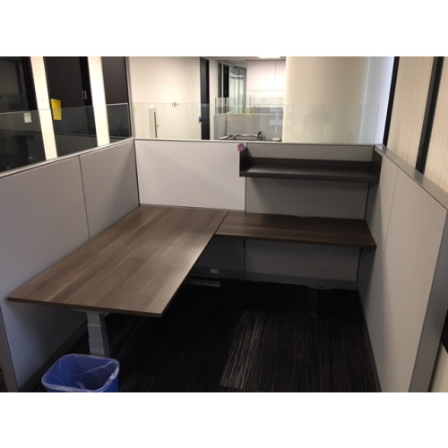 The Perfect Steelcase Adjustable Height Cubicle
